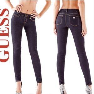 Guess Curve X Skinny Jeans dark wash